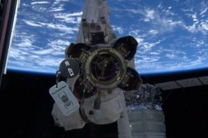 Målet var den internasjonale romstasjonen