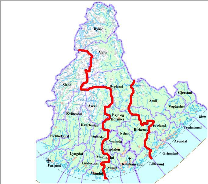 kart over åseral Kaperjul 2015 | kart over åseral